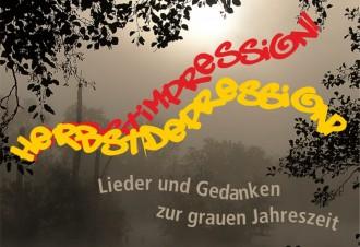 Herbstimpressionen / Herbstdepressionen