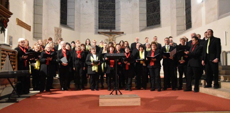 Klanggewaltige Chöre in der Stadtkirche